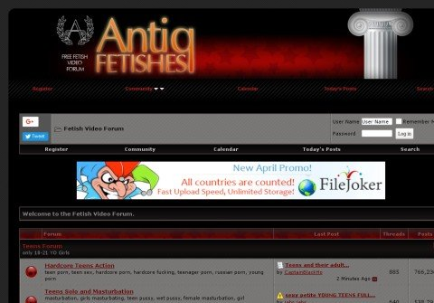 antiq-fetishes.net thumbnail