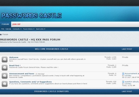 passwordscastle.net thumbnail